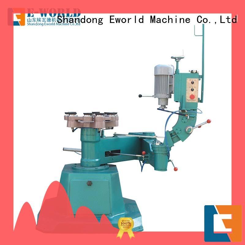 Eworld Machine straight glass beveling polishing machine supplier for global market