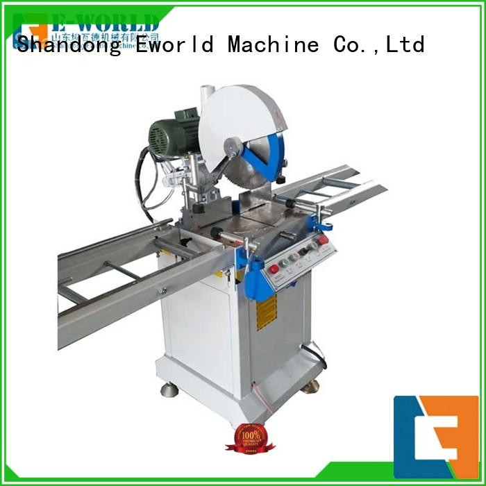 Eworld Machine new upvc door window making machine supplier for industrial production