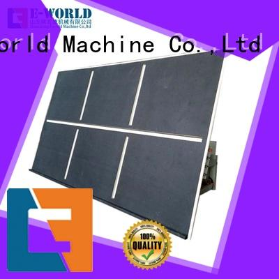 Eworld Machine small automatic glass cutting machine dedicated service for industry