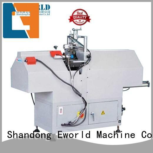 Eworld Machine customized upvc door making machine factory for importer