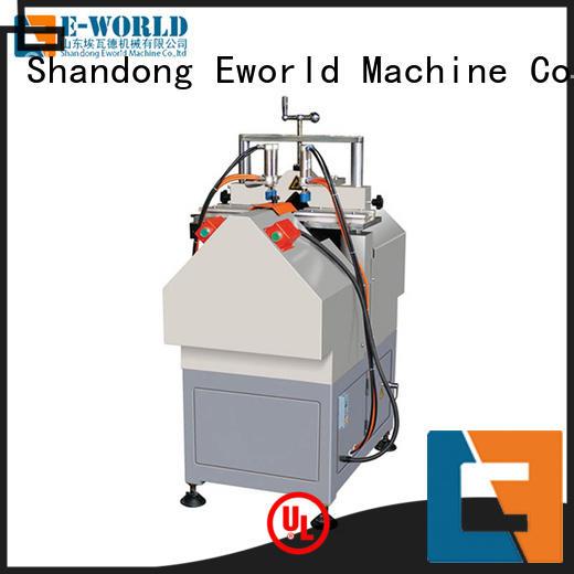 Eworld Machine customized upvc door window making machine factory for manufacturing