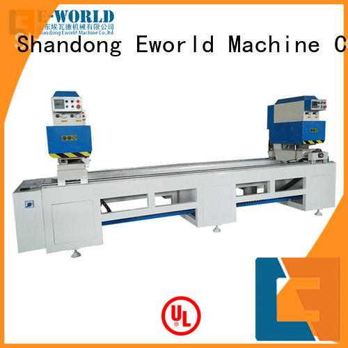 Eworld Machine doorwindow upvc windows and doors machinery factory for industrial production