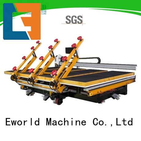 Eworld Machine round manual mosaic glass cutting table foreign trader for machine