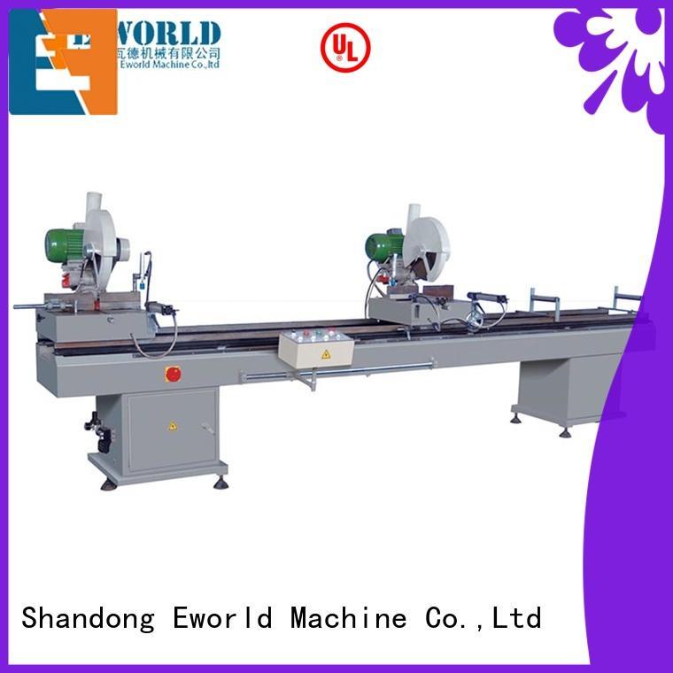 Eworld Machine new upvc door making machine factory for manufacturing