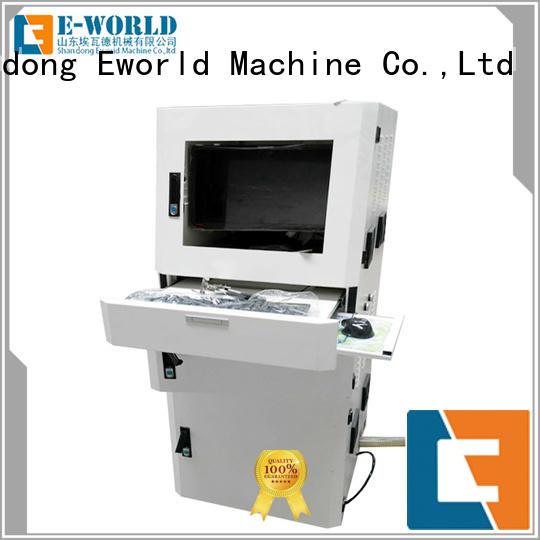 Eworld Machine stable performance manual glass cutting machine exquisite craftsmanship for machine
