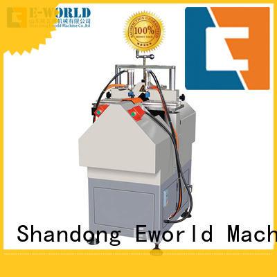 Eworld Machine customized UPVC window door machine supplier for industrial production