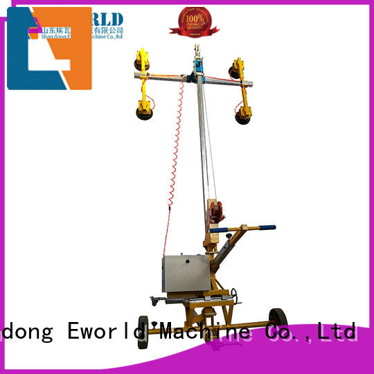 Eworld Machine unloading glass vacuum handling lifter supplier for distributor