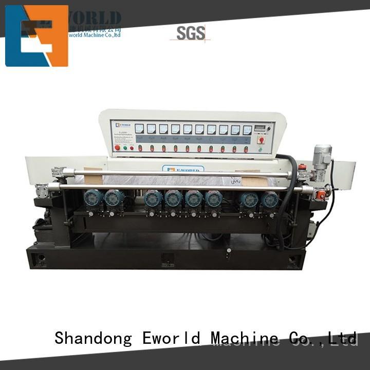 Eworld Machine fine workmanship small glass beveling machine supplier for global market