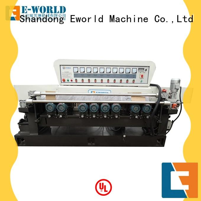 Straight line Glass beveling machine