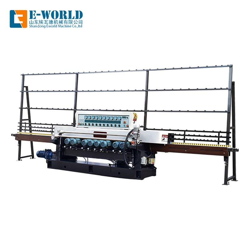Eworld Machine edging mirror glass polishing machine manufacturer for global market-2