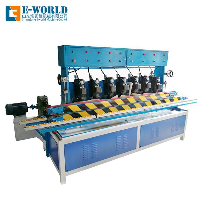 Horizontal multi functional glass edge processing machine