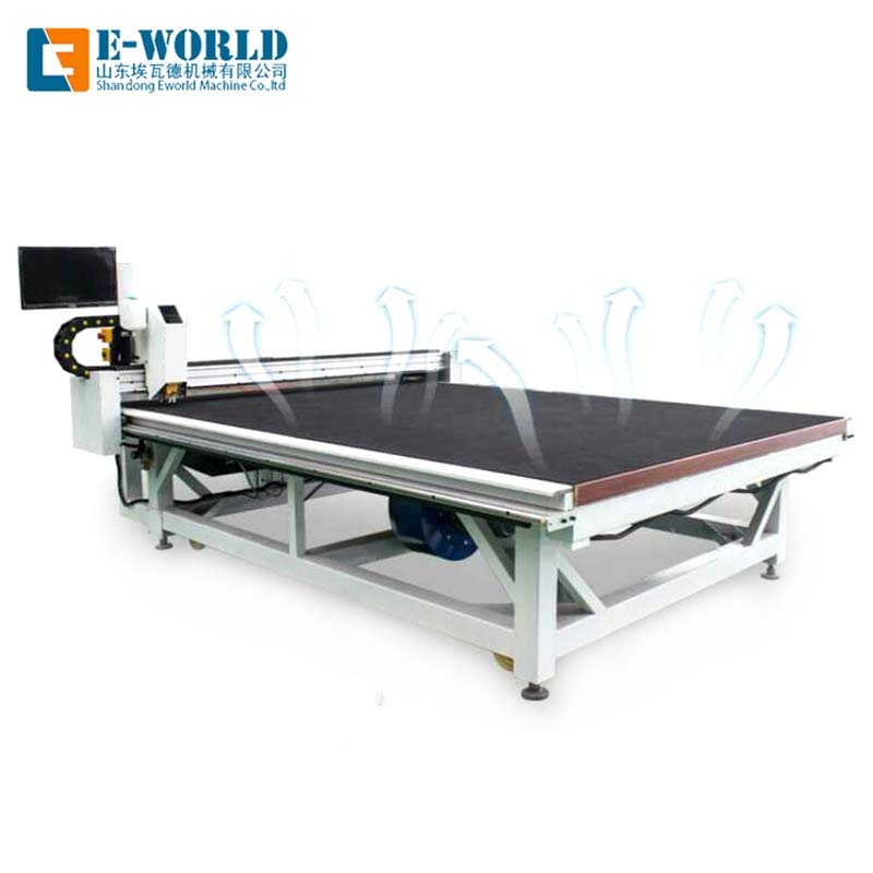 Eworld Machine shaped automatic glass cutting table factory for industry-2