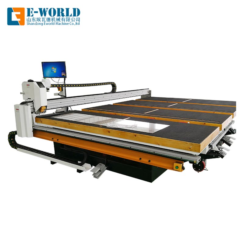 Eworld Machine float glass cutting machine for sale company for machine-1