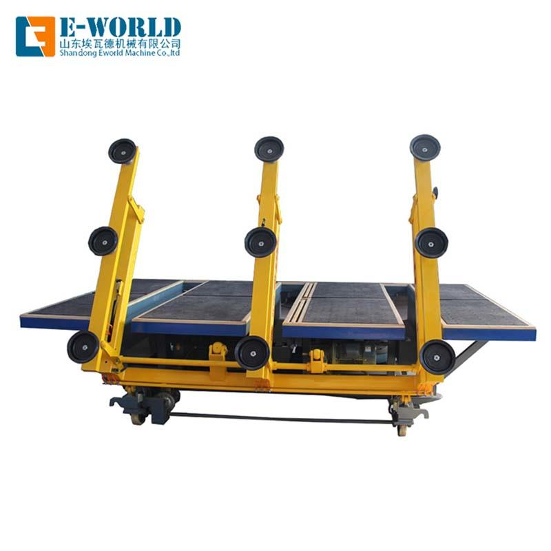 Horizontal Automatic glass loading table