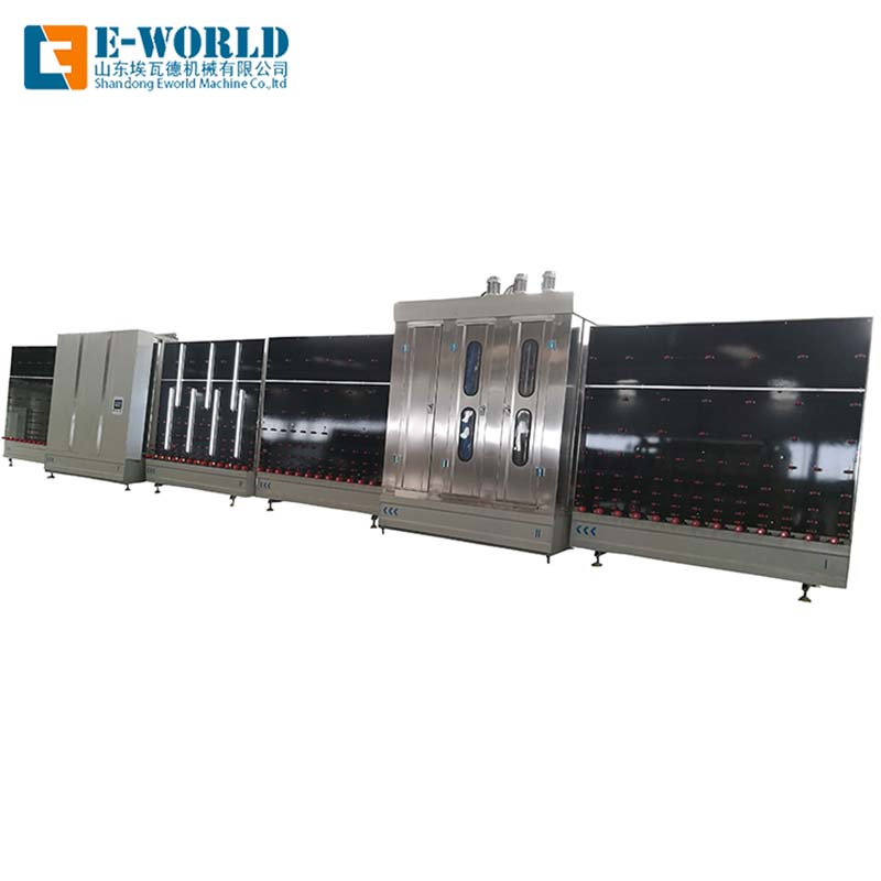 Eworld Machine insulating double glass glazing machine wholesaler for manufacturing-1