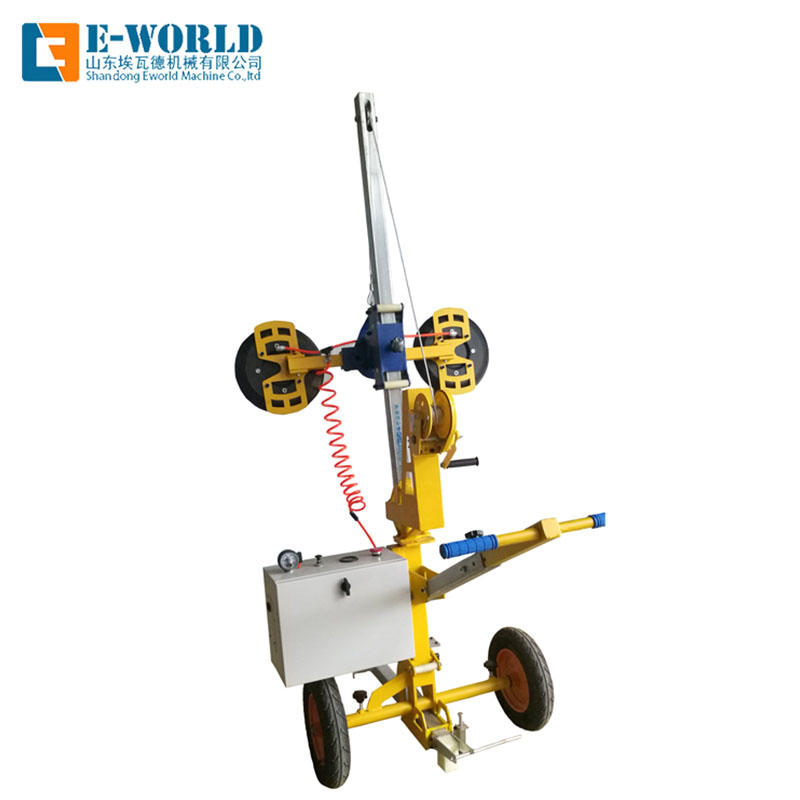 Glass Vacuum lifter with electricity battery