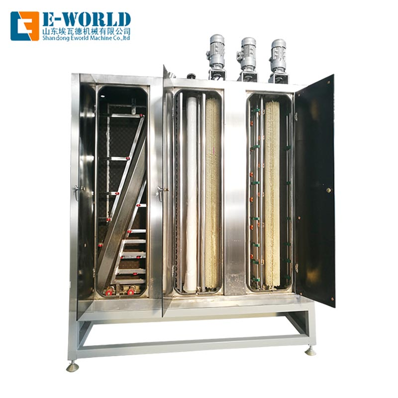 Eworld Machine open high speed glass washer for business for manufacturing-2
