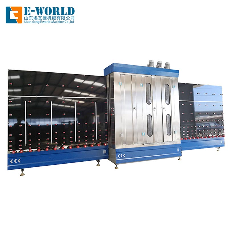Eworld Machine open high speed glass washer for business for manufacturing-1