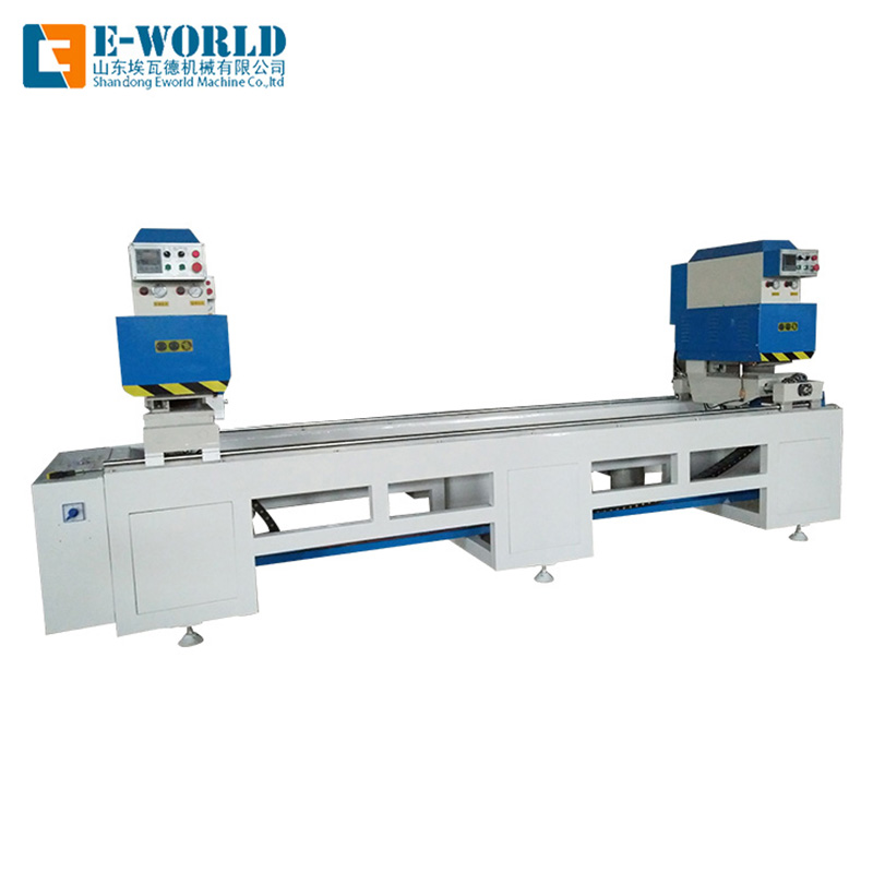 Eworld Machine custom double head cutting saw company for industrial production-2