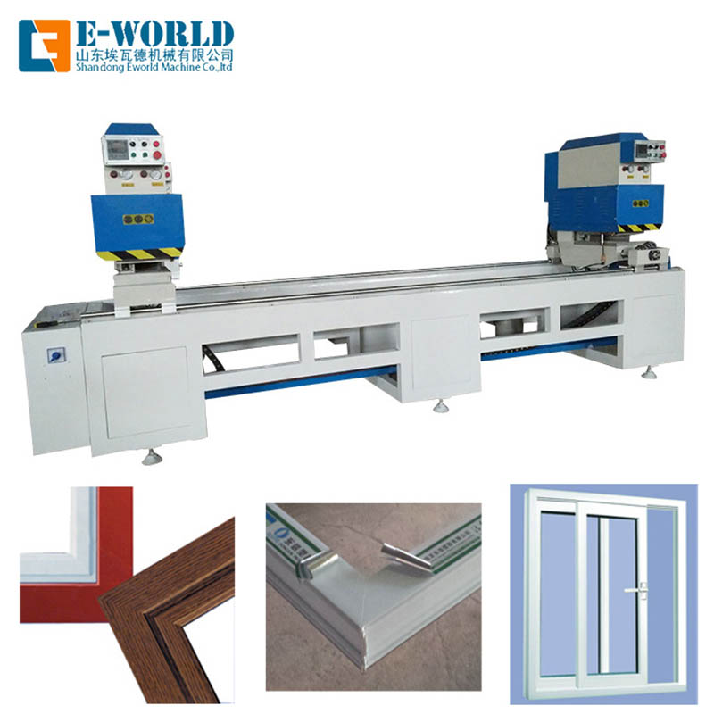 Eworld Machine custom double head cutting saw company for industrial production-1