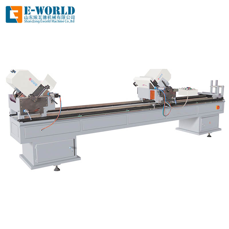Eworld Machine double upvc machine order now for industrial production-2
