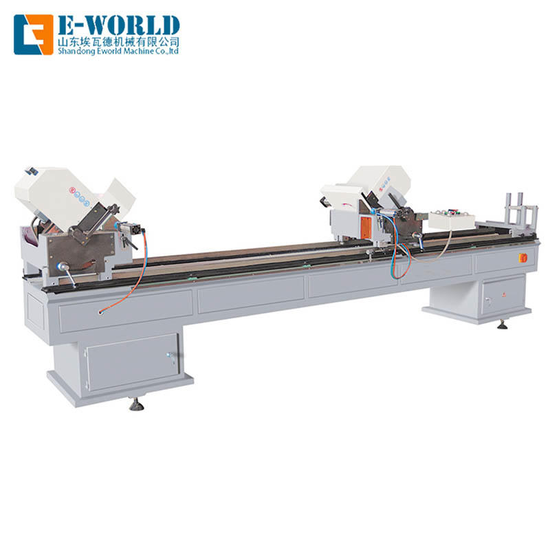 PVC Double head cutting machine