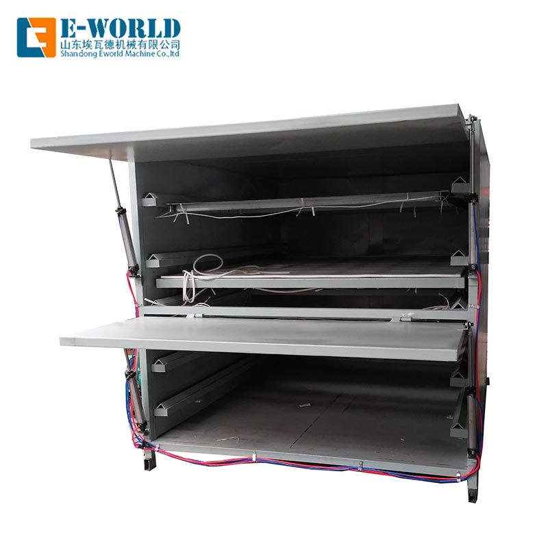 Eworld Machine film eva lamination machine manufacturers for industry-1
