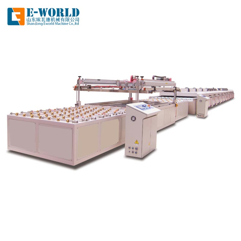 Eworld Machine original automatic glass screen printing machine manufacturer for industry-1
