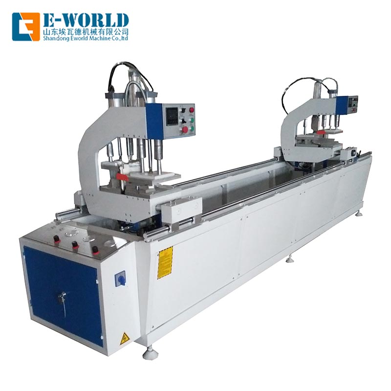 Eworld Machine latest upvc doors and windows making machine order now for industrial production-1