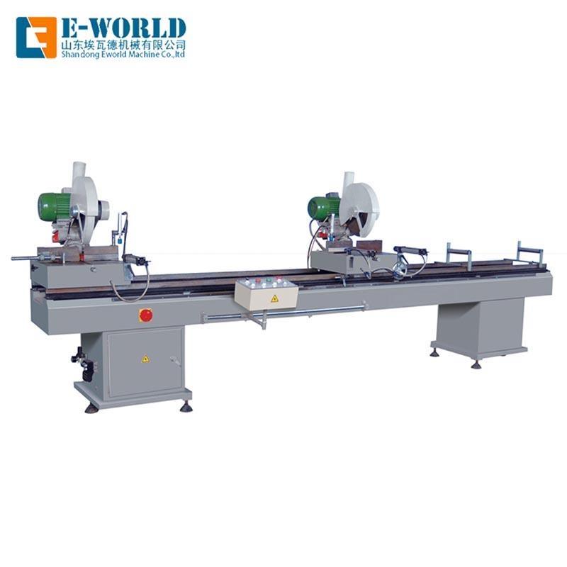 Customized PVC double head cutting saw
