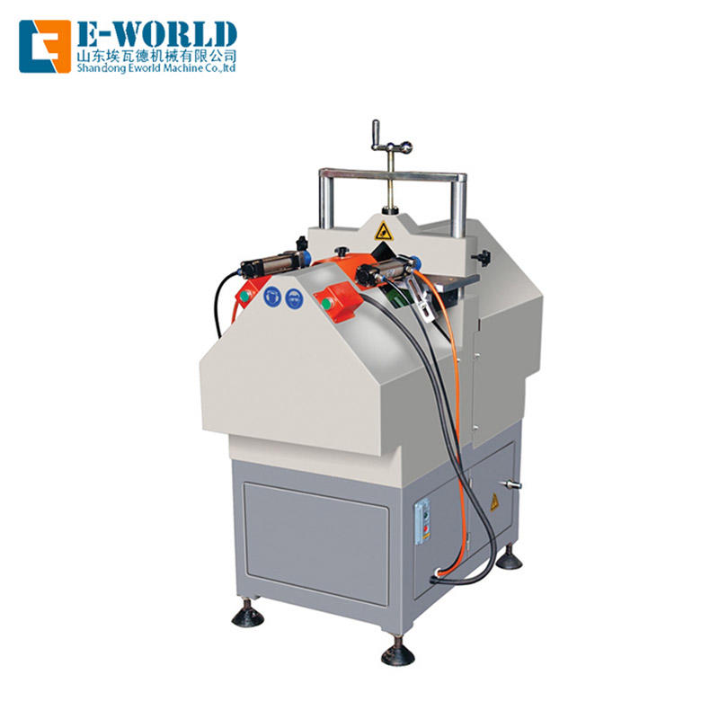UPVC Window V cutting saw machine