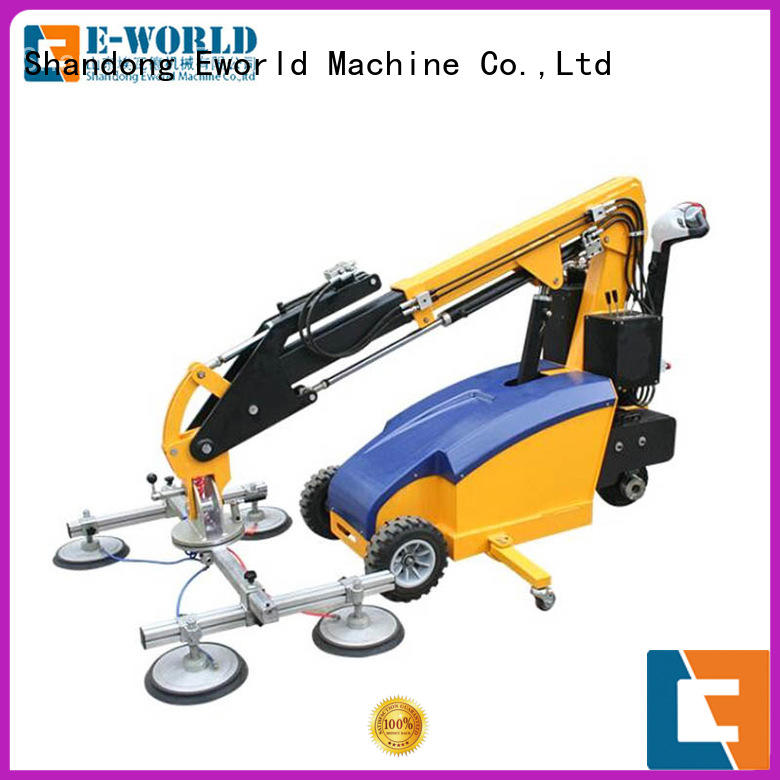 Eworld Machine power glass vacuum handling lifter supplier for industry