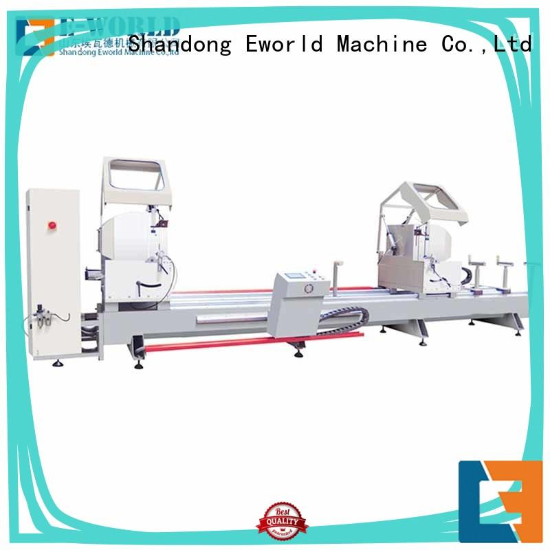 Eworld Machine trade assurance aluminum window making machine OEM/ODM services for manufacturing