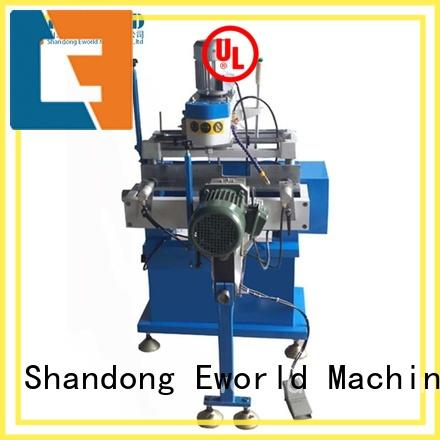 Eworld Machine customized pvc glass making machine factory for manufacturing
