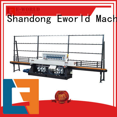 Eworld Machine polishing irregular glass shape grinding machine OEM/ODM services for industrial production