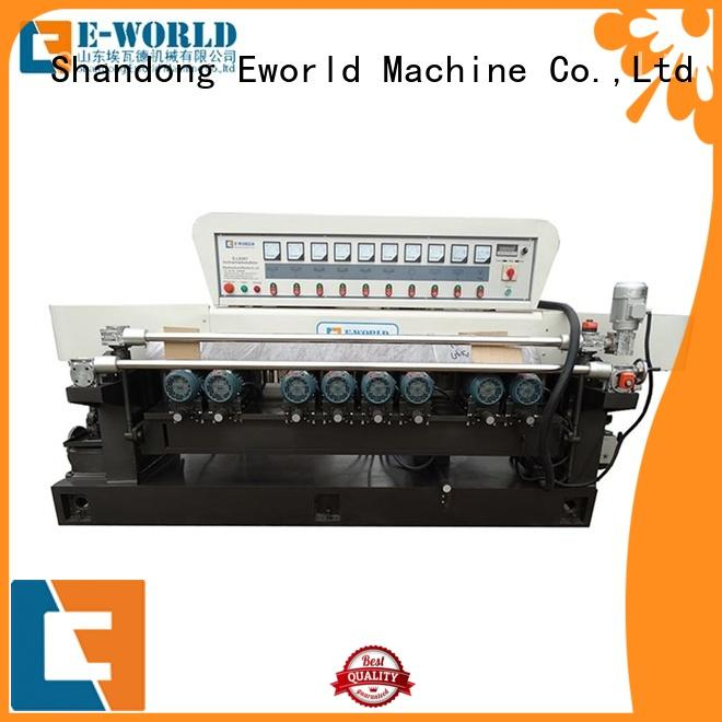 Eworld Machine machine irregular glass shape grinding machine supplier for manufacturing