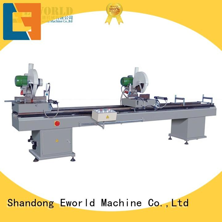 Eworld Machine customized pvc window machinery supplier for manufacturing