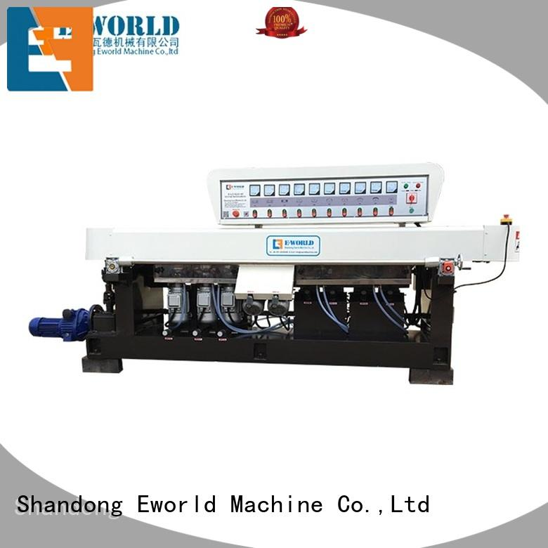 Eworld Machine edging glass polish hand machine supplier for industrial production
