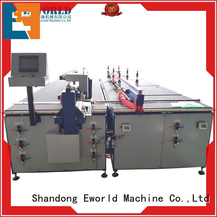 Eworld Machine reasonable structure glass cutting table for sale dedicated service for sale