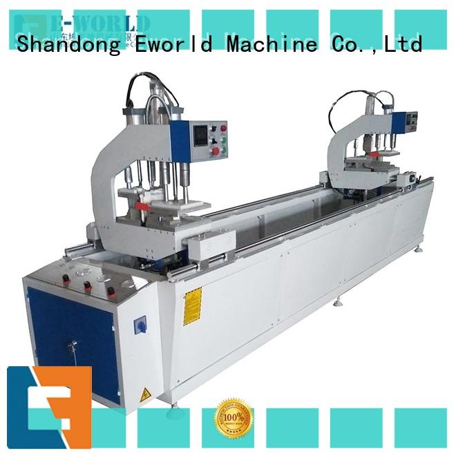 seamless upvc windows processing making machine supplier for industrial production Eworld Machine