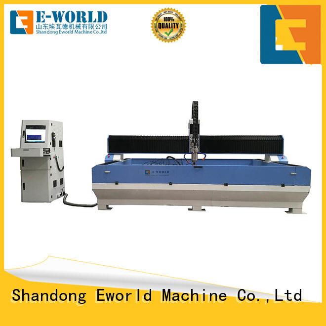 Eworld Machine stable performance cnc glass machining processing machine dedicated service for machine