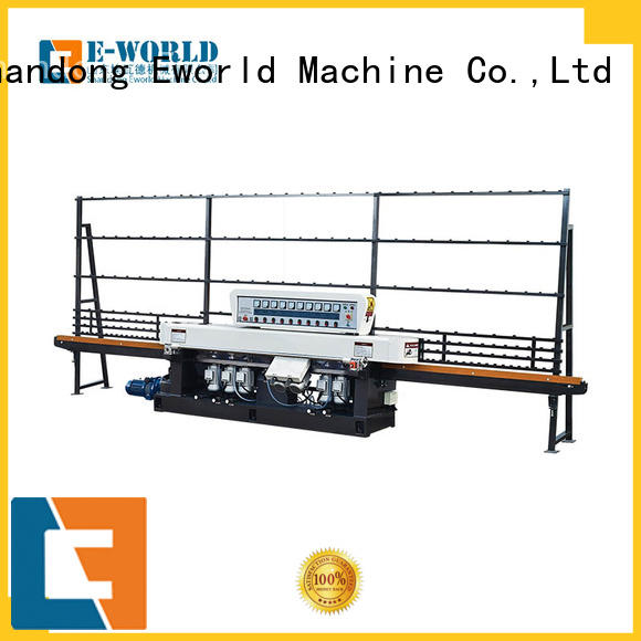 Eworld Machine fine workmanship glass polish hand machine manufacturer for industrial production