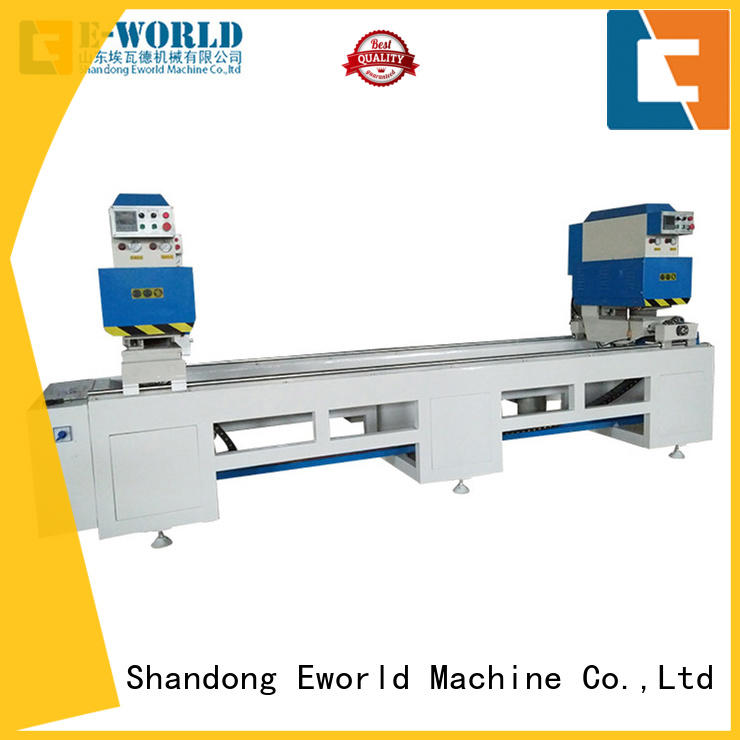 Eworld Machine double pvc manufacturing machine factory for manufacturing