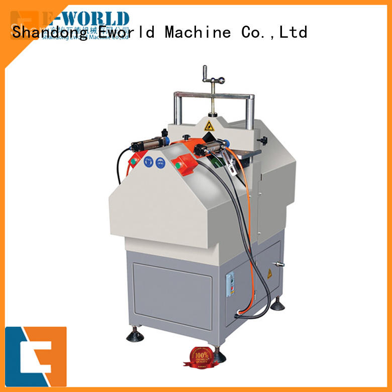 Eworld Machine machine UPVC window door machine order now for industrial production