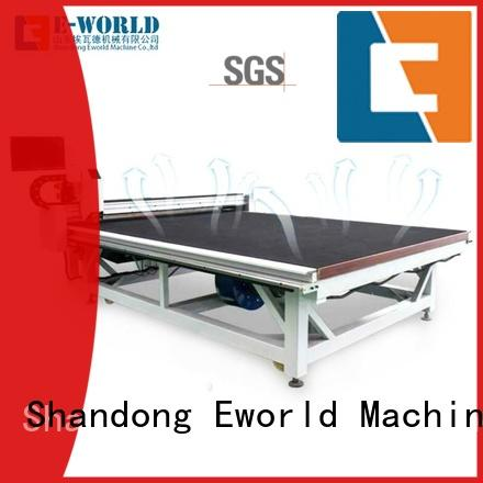 Eworld Machine cnc glass loading cutting table foreign trader for machine