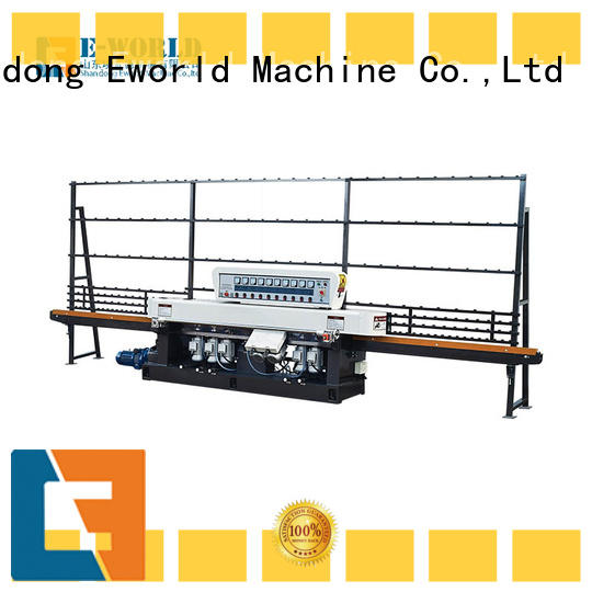 trade assurance flat glass edging polishing machine horizontal supplier for industrial production