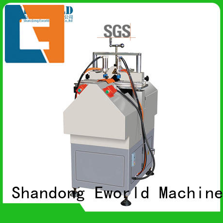 Eworld Machine doorwindow upvc cutting machine factory for industrial production