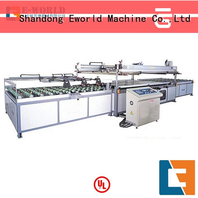 Eworld Machine printing auto glass screen printing machine manufacturer for industry