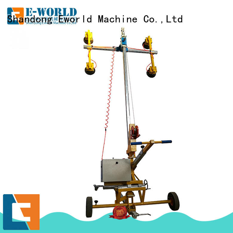 Eworld Machine outdoor double cup suction lifter factory for sale