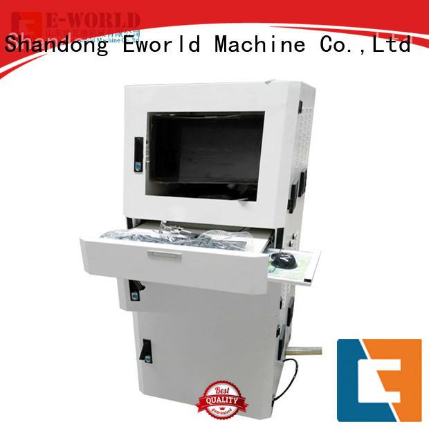 Eworld Machine table small glass cutting machine dedicated service for sale